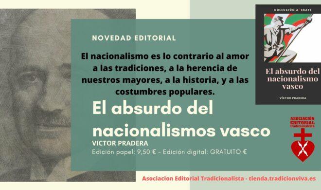 El nacionalismo tiene la imperiosa necesidad de inventarse un pasado que no existe