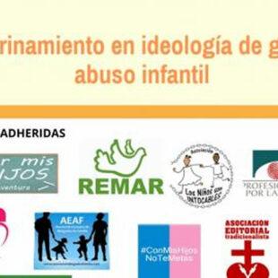 """La Asociación Editorial Tradicionalista denuncia que """"el adoctrinamiento en ideología de género es abuso"""""""